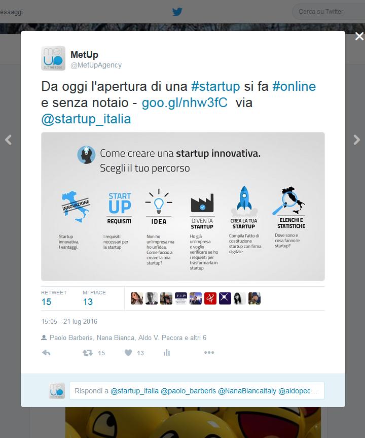 MetUp - Tweet