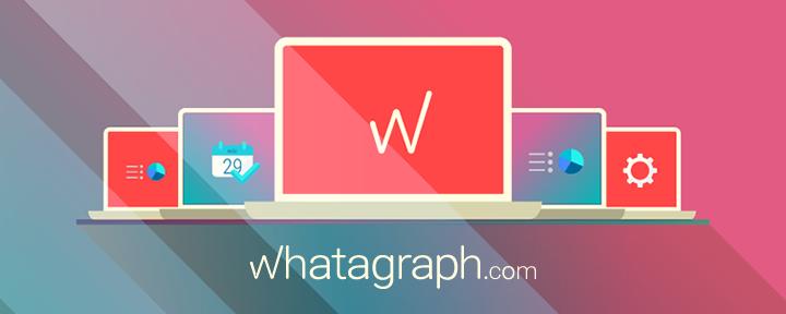 Whatagraph trasforma i dati del sito o della Pagina in infografica