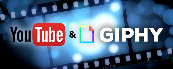 Come creare GIF animate da YouTube con Giphy