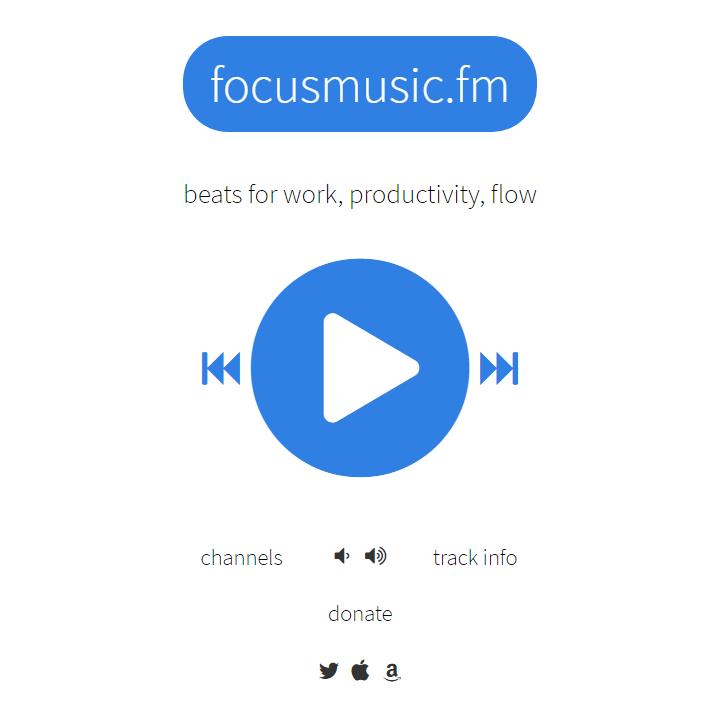 Focusmusic.fm - Homepage