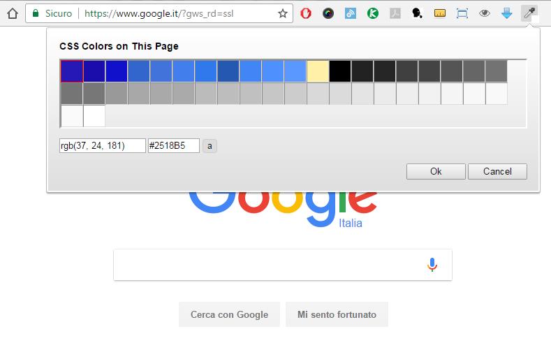 ColorZilla - Webpage Color Analyzer
