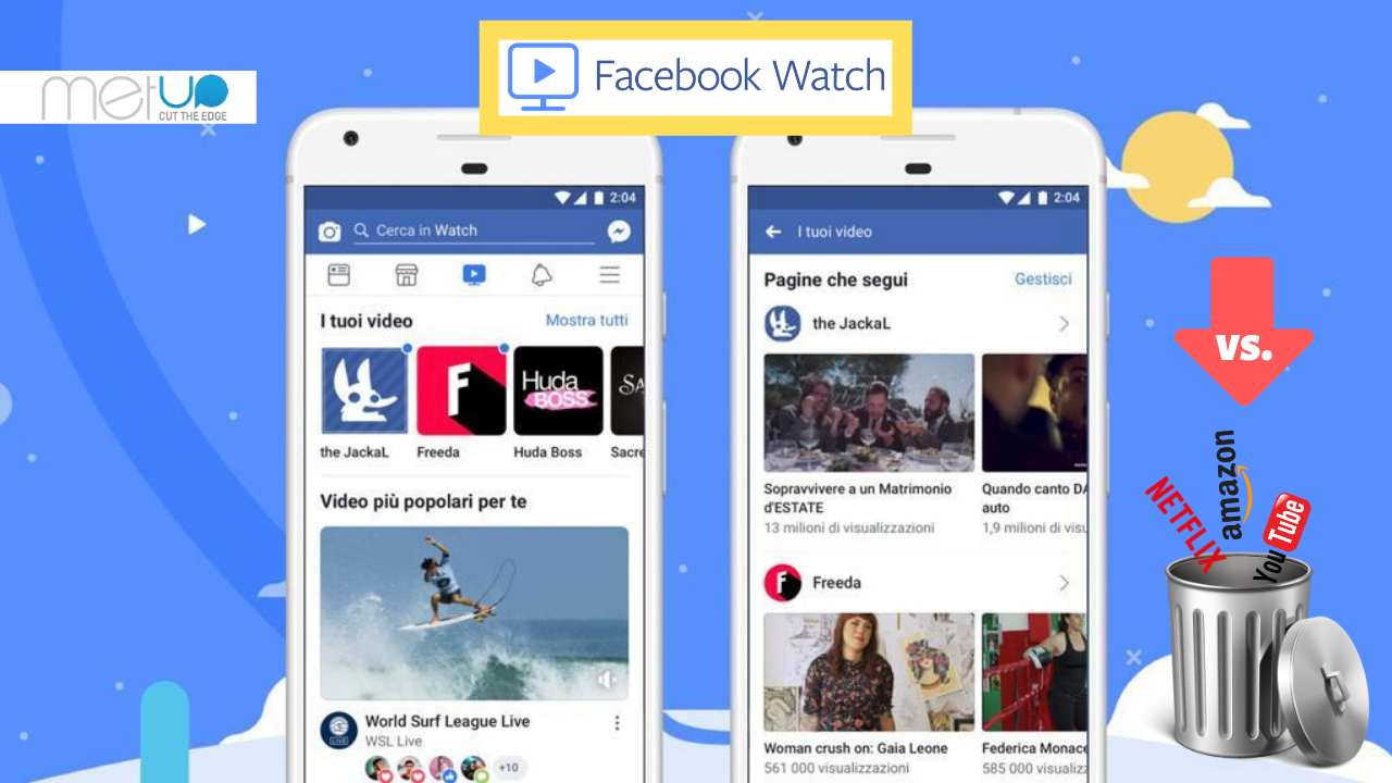 Facebook Watch: la sfida di Zuckerberg a Youtube, Netflix e Amazon
